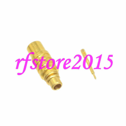 """10pcs Connector MMCX male plug solder RG405 0.086/"""" cable RF COAXIAL Straight"""