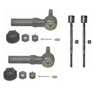 Set of Front Left /& Right Inner Outer Tie Rod Ends Moog for Toyota Corolla