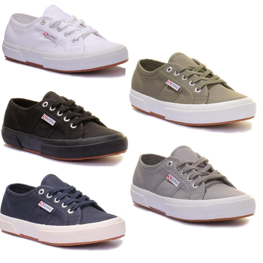Superga 2750 Cotu damen Leinen Schuhe 3-8