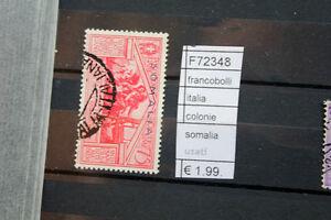 FRANCOBOLLI-ITALIA-COLONIE-SOMALIA-USATI-F72348