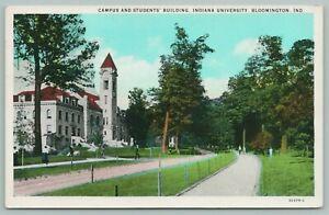 Bloomington-Indiana-University-Campus-amp-Students-Bldg-Students-Walk-to-Class-039-30