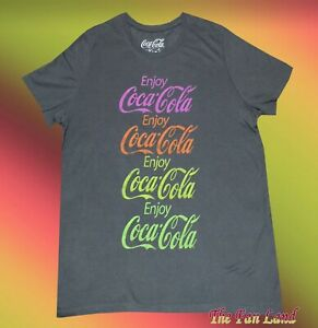 183dc13ec18e2 Image is loading New-Coca-Cola-Enjoy-Coke-Vintage-Womens-Juniors-