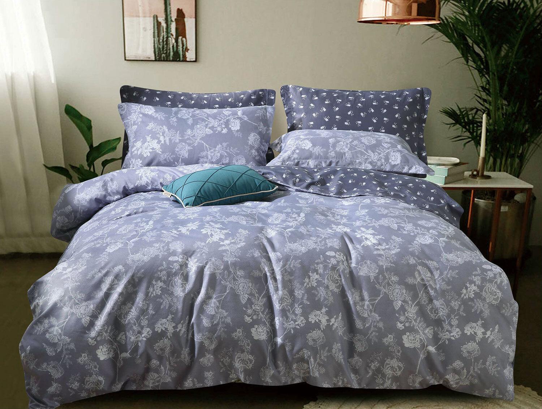 Queen King SuperKing Size Bed Duvet Doona Quilt Cover Set New Ar M342
