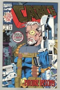 Marvel-Comic-Book-Cable-1-Future-Destiny-1st-Issue-May-1993