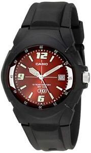 Casio-Men-039-s-Quartz-10-Year-Battery-Black-Resin-Band-Watch-MW600F-4AV