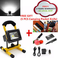 BRIGHT LED RECHARGEABLE CORDLESS CAMPING HIKING TROUBLE MECHANIC WORK LIGHT LAMP