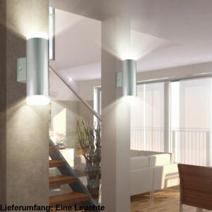 Led Wand Leuchte Up Down Strahler Treppen Haus Flur Beleuchtung Spot Lampe Ebay