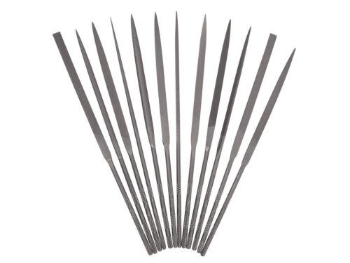 Set De 6//12 VALLORBE SWISS MADE 16 cm Coupé 2 en acier chromé aiguille fichiers