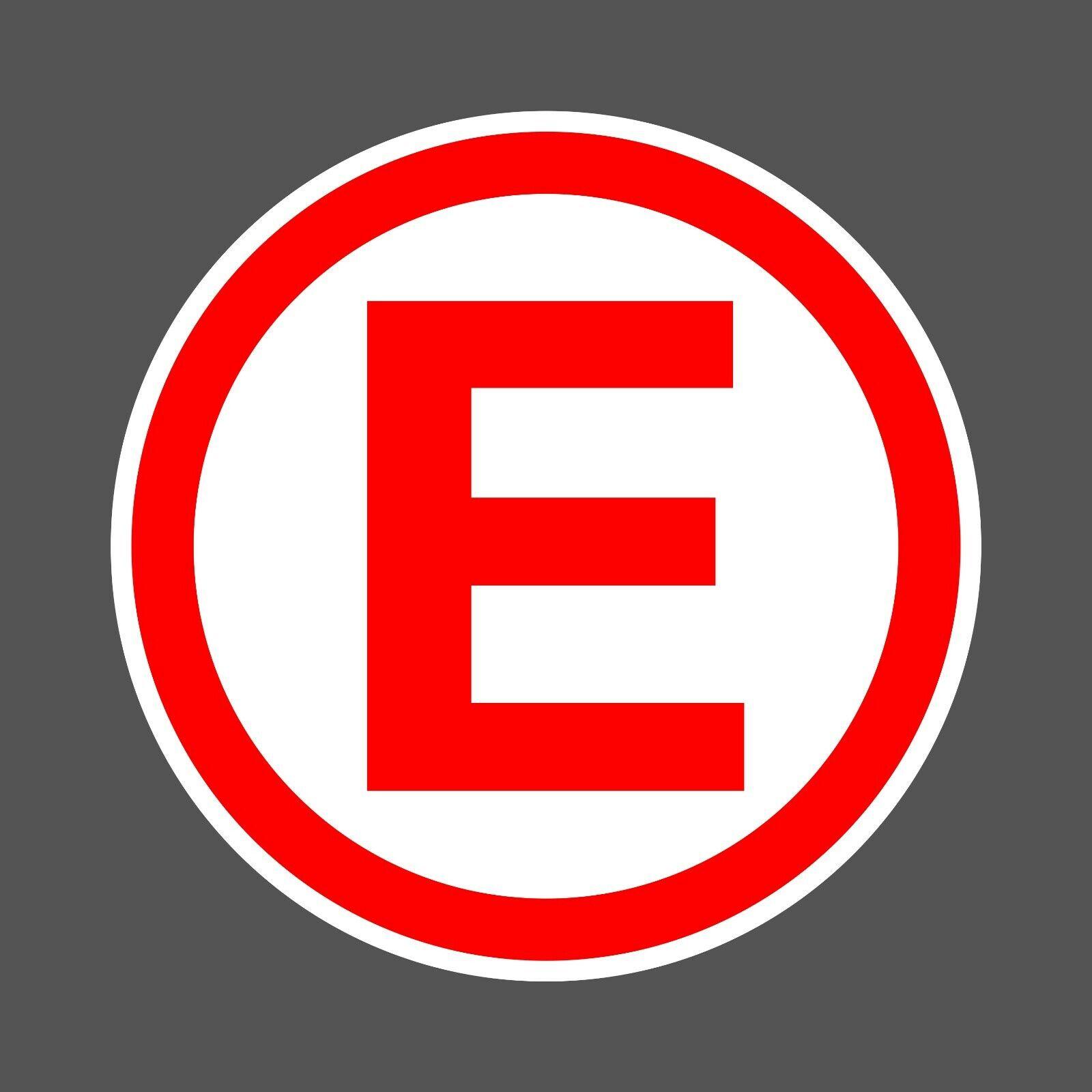 Motorsport UK Extinguisher sticker - MSA scrutineer race ...
