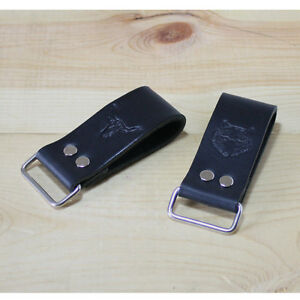 Leather Work Belt Loop Holder_Tape Measure, Layout Tool, Men's Belt / FREE SHIP