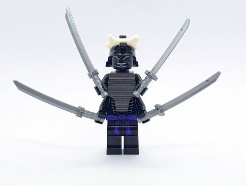 LEGO NINJAGO Figur Lord Garmadon 4 Arme mit Schwerter Legacy