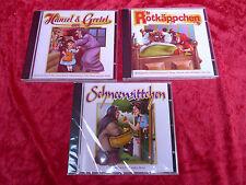 3 CD `s__Märchen__rotkaepchen, Schneewitchen, Hansel y Gretel __nuevo
