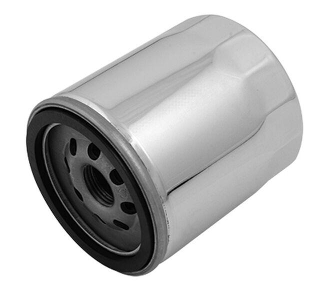 Revtech Magnet Ölfilter Harley Twin Cam ab 99 - heute chrom OEM 63798-99