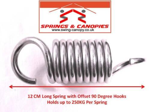 Garden swing springs strong heavy duty springs hanging egg chair hammock