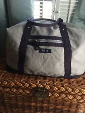 "Nautica  Fragrances Large Canvas Gym Tote Beach Travel  Bag 16""X25""X 6 1/2"""
