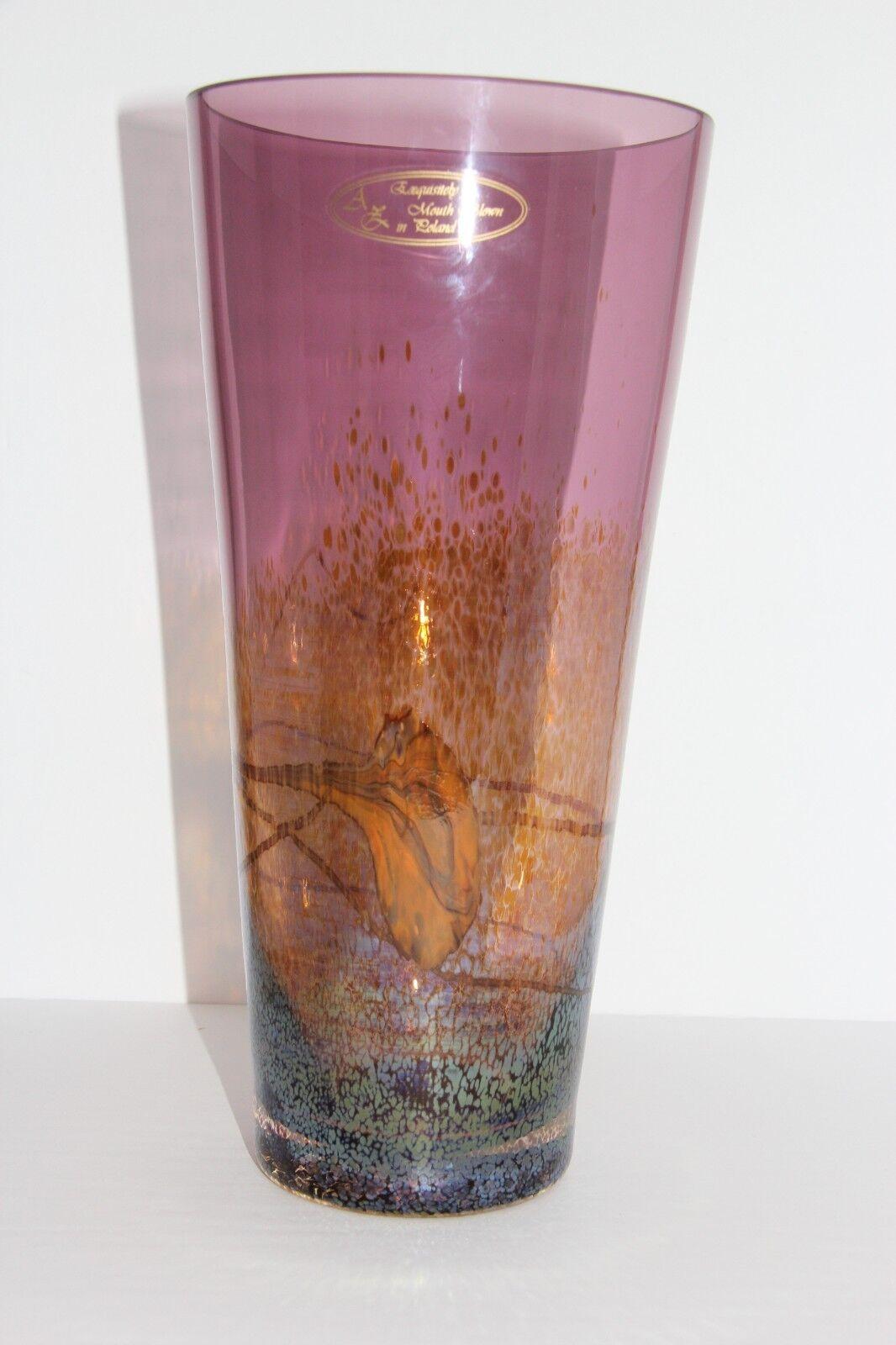 Circular vase - Amethyst 59