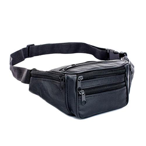 Fanny Pack Belt Waist Bag Leather Pack Travel Purse Hip Belt Pouch For Men Women