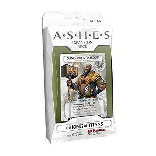 Ashes The King of Titans Expansion Deck