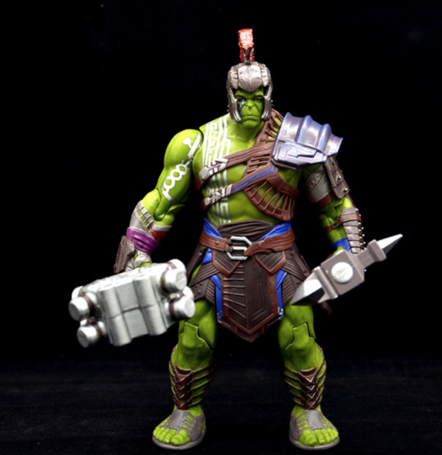 1x Thor 3 Ragnarok Action Figure Hulk Model Toy 20cm PVC Kids Gift Superhero Toy