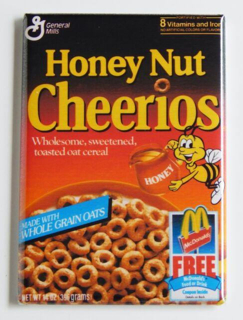 Strawberry Pop Tarts Crunch FRIDGE MAGNET cereal box