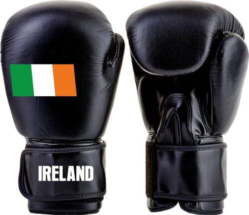 Irlanda Bandiera Irlandese Guantoni Da Boxe Sparring MMA Kickboxing Lotta UFC Formazione 4600