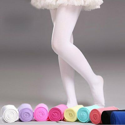 Sweet Baby Girl Kids Hosiery Pantyhose Ballet Dance Stocking Footed Socks Tights