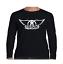 Aerosmith-Wings-Long-Sleeve-T-Shirt-Classic-Rock-Band thumbnail 2