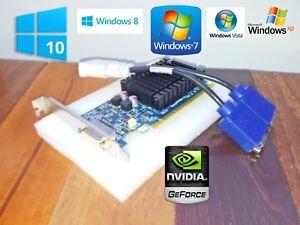 1GB NVIDIA Optiplex 3010 3020 7010 7020 9010 Tower Dual Monitor VGA