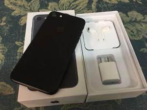 USED Apple iPhone 7 32GB Matte Black - Factory Unlocked, Complete