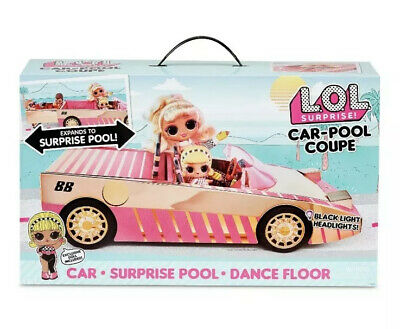 2020 Lol Surprise Car Pool Coupe For Tots Omg Dolls Dance Floor New Light Ups Ebay