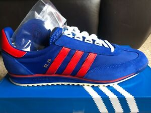 adidas sl76 blue red size 10.5 new with