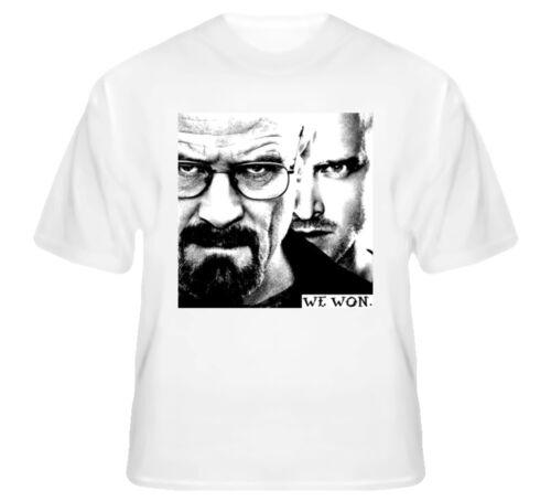 Breaking Bad Walter White Jesse Pinkman We won Shirt Fan Art Heisenberg