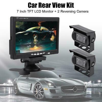 4.3 pouces tft lcd voiture vue arrière moniteur reverse camera