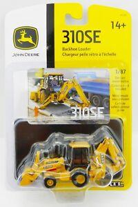 ERTL-1-87-HO-SCALE-JOHN-DEERE-Model-310SE-Backhoe-Loader-HIGH-DETAIL-NIP