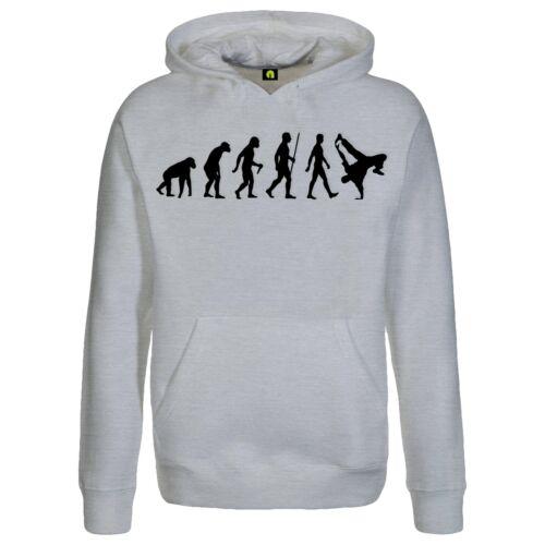 Evolution Breakdance con cappuccio PulloverballareDanceBreakHip HopBboy