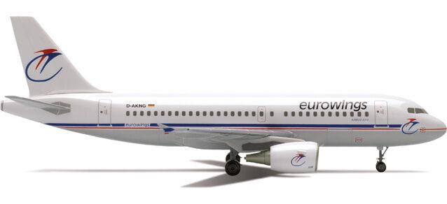 Eurowings Airbus A319 (D-AKNG) 1 200 Herpa, 550413