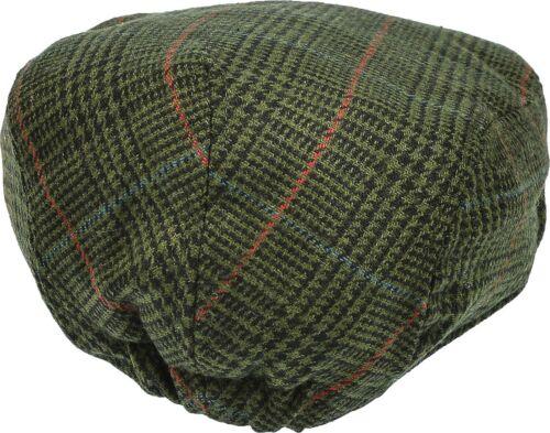 Men/'s Patch Driving Cap Plaid Newsboy Wool Gatsby  Flat Hat Cabbie Herringbone
