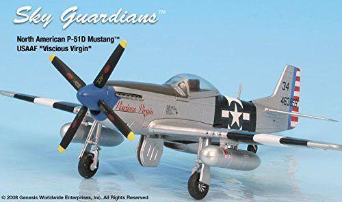 el mejor servicio post-venta P-51d Usaaf  viscious Virgen Virgen Virgen  de avión miniatura Modelo Metal Fundido 1 72  seguro de calidad
