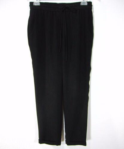 Pantaloni 4 taglia J Solid casual Crew Elastic Black Waist pxwxfBTSq