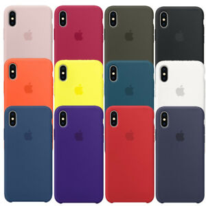 custodia apple iphone x silicone