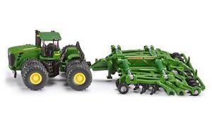 NEW-Siku-John-Deere-9630-Tractor-with-Amazone-Centaur-Die-Cast-Toy-Truck-1856
