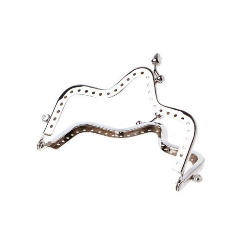 1PC Unique Pièce Sac à main cadre en métal Kiss Fermoir de bricolage Accessoires 10 cm