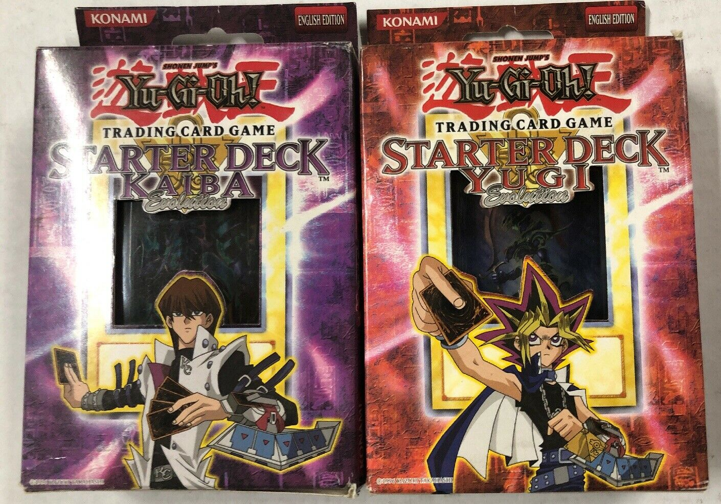 Yugioh Yugi Kaiba Evolution Structure Theme Decks For Card Game CCG TCG