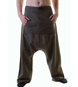 Hombre Psy Pantalon Aladino Hippie Pantalones Bombacho Kunst Und Magie Ebay