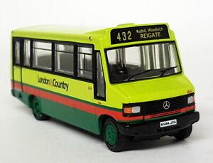 EFE-1-76-Scale-24811-Mercedes-Minibus-London-amp-County-Diecast-Model-Bus