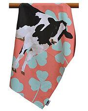 Leslie Gerry Friesen Kuh Design Geschirrtuch 100% Baumwolle