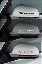 Para Daihatsu - 2 X Ala Espejo-Coche Decal Sticker Adhesivo - 100mm de largo