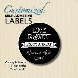 image is loading love is sweet enjoy a treat chalkboard stickers