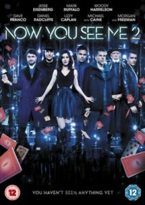 NOW-YOU-SEE-ME-2-DVD-NEW-Region-2-2016-Jesse-Eisenberg