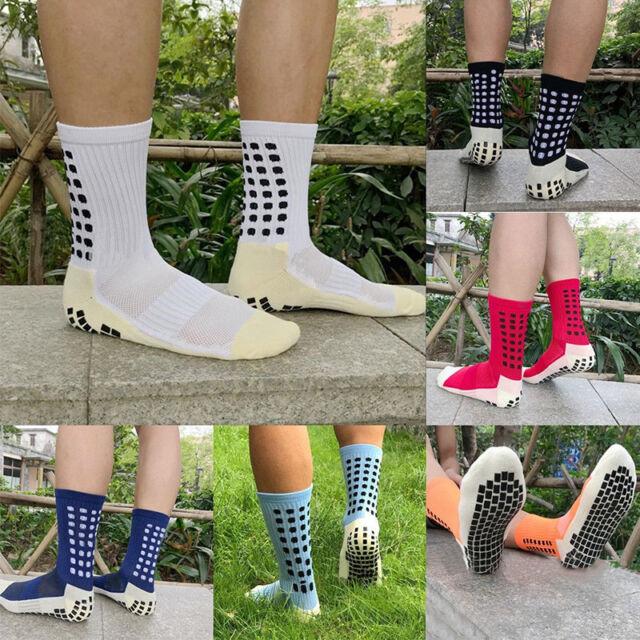 Football Men Sports Anti Slip Socks Basketball Long Compression Cotton Sock Sock